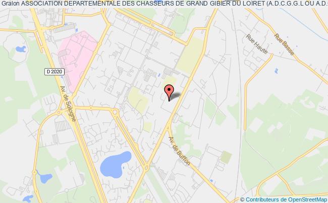 plan association Association Departementale Des Chasseurs De Grand Gibier Du Loiret (a.d.c.g.g.l Ou A.d.c.g.g.45)