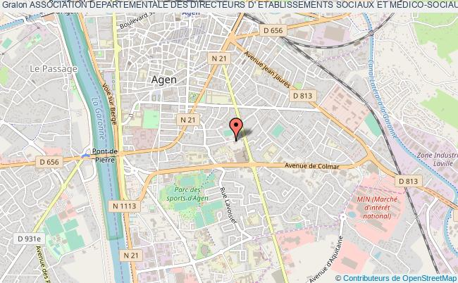 plan association Association Departementale Des Directeurs D' Etablissements Sociaux Et Medico-sociaux (a.d.d.e.s.m.s.)