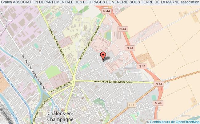 plan association Association DÉpartementale Des Équipages De VÉnerie Sous Terre De La Marne