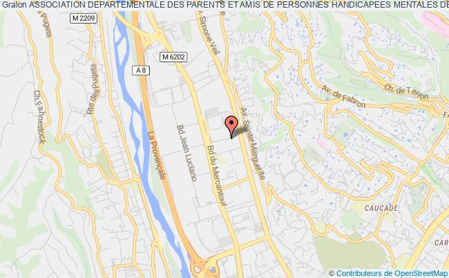 plan association Association Departementale Des Parents Et Amis De Personnes Handicapees Mentales Des Alpes-maritimes (adapei-am) Nice