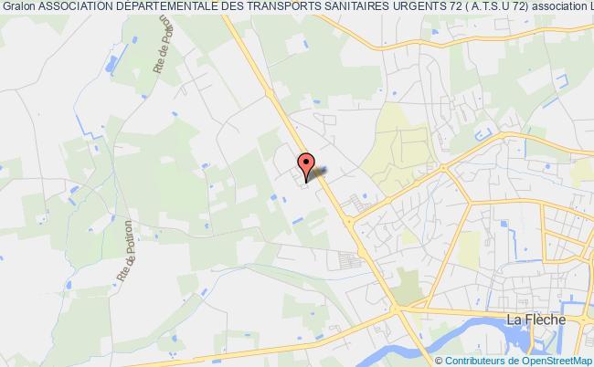plan association Association DÉpartementale Des Transports Sanitaires Urgents 72 ( A.t.s.u 72)