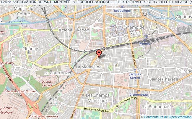 plan association Association Departementale Interprofessionnelle Des Retraites Cftc D'ille Et Vilaine (a.d.i.r.)