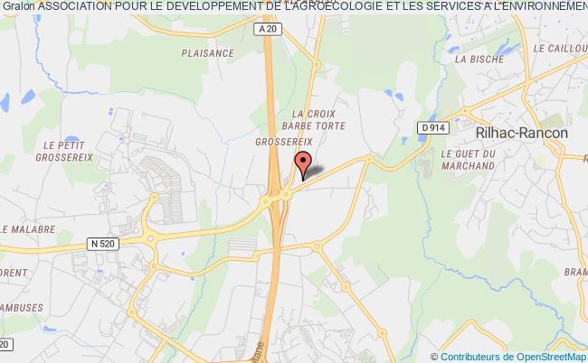 plan association Association Departementale Pour L'amenagement Des Structures Des Exploitations Agricoles De La Haute-vienne (a.d.a.s.e.a.)