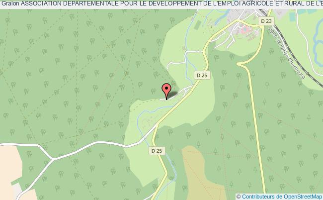 plan association Association Departementale Pour Le Developpement De L'emploi Agricole Et Rural De L'eure (addear 27)