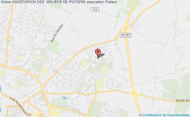 plan association Association Des  Maliens De Poitiers