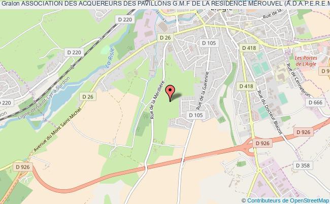 plan association Association Des Acquereurs Des Pavillons G.m.f De La Residence Merouvel (a.d.a.p.e.r.e.m.)