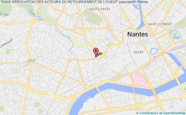 plan association Association Des Acteurs Du Retournement De L'ouest
