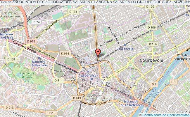 plan association Association Des Actionnaires Salaries Et Anciens Salaries Du Groupe Gdf Suez (ag2s) Courbevoie