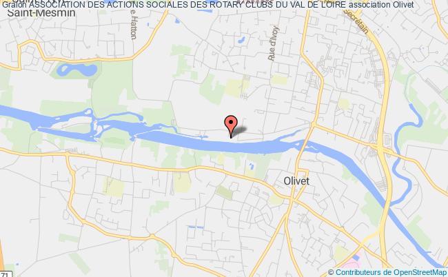 plan association Association Des Actions Sociales Des Rotary Clubs Du Val De Loire