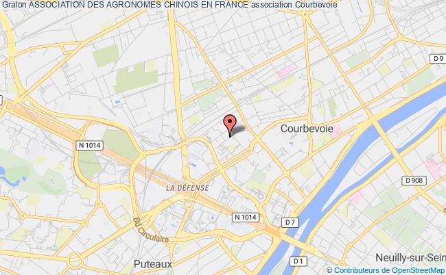 plan association Association Des Agronomes Chinois En France Courbevoie