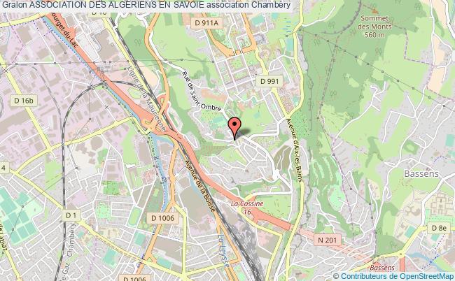 plan association Association Des Algeriens En Savoie