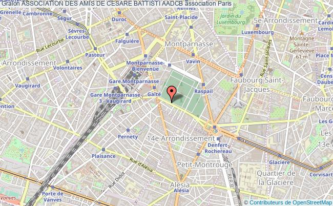 plan association Association Des Amis De Cesare Battisti Aadcb