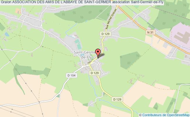 plan association Association Des Amis De L'abbaye De Saint-germer