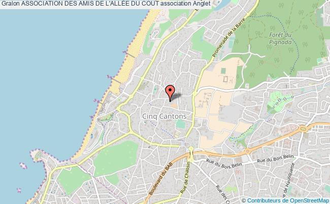 plan association Association Des Amis De L'allÉe Du Cout