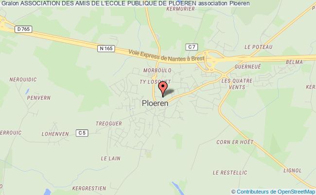 plan association Association Des Amis De L'ecole Publique De Ploeren