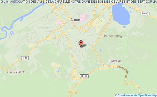 plan association Association Des Amis De La Chapelle Notre-dame Des Bonnes-oeuvres Et Des Sept Dormants D'ephese