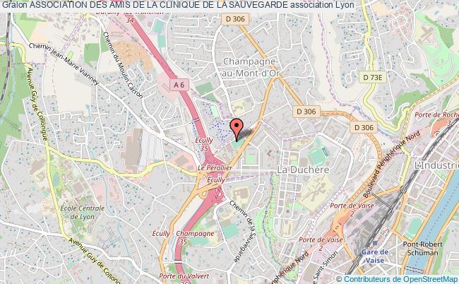 plan association Association Des Amis De La Clinique De La Sauvegarde