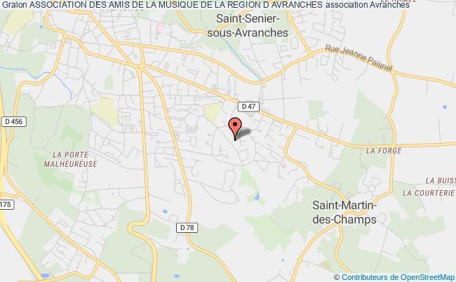 plan association Association Des Amis De La Musique De La Region D Avranches