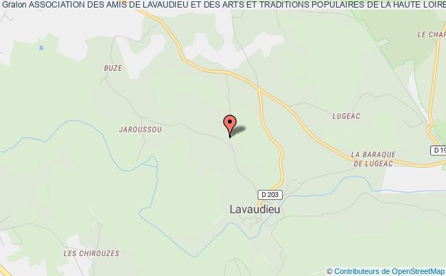"""plan association Association Des Amis De Lavaudieu Et Des Arts Et Traditions Populaires De La Haute Loire """"vallis Dei"""" Lavaudieu"""