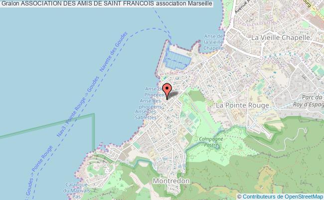 plan association Association Des Amis De Saint Francois