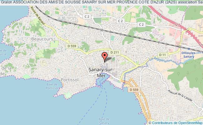 plan association Association Des Amis De Sousse Sanary Sur Mer Provence Cote D'azur (2a2s)