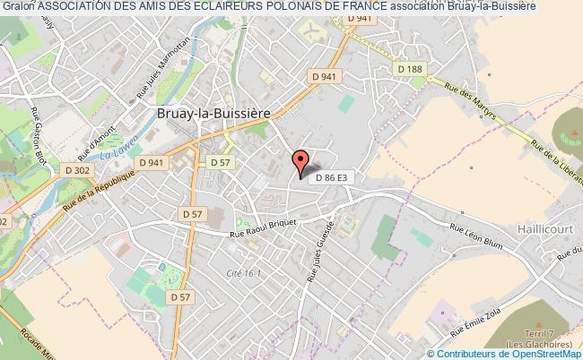 plan association Association Des Amis Des Eclaireurs Polonais De France