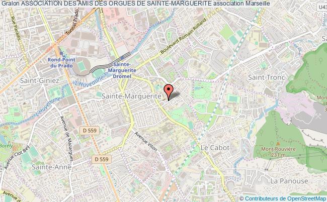 plan association Association Des Amis Des Orgues De Sainte-marguerite