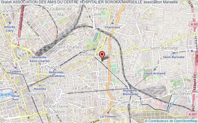 plan association Association Des Amis Du Centre Hospitalier Soroka/marseille