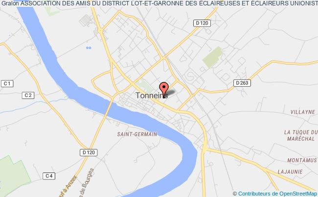 plan association Association Des Amis Du District Lot-et-garonne Des Éclaireuses Et Éclaireurs Unionistes De France