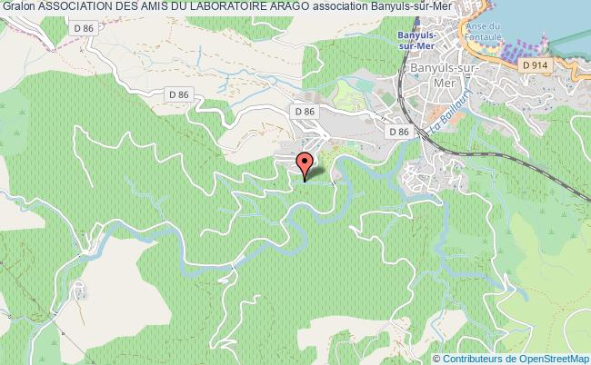 plan association Association Des Amis Du Laboratoire Arago