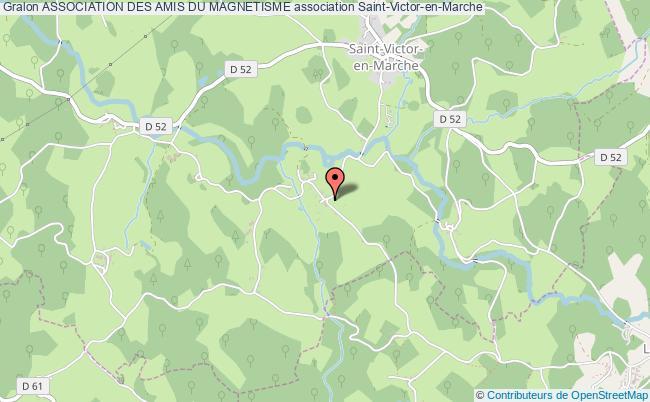 plan association Association Des Amis Du Magnetisme Saint-Victor-en-Marche