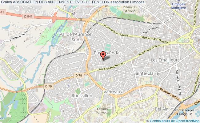 plan association Association Des Anciennes ÉlevÉs De Fenelon