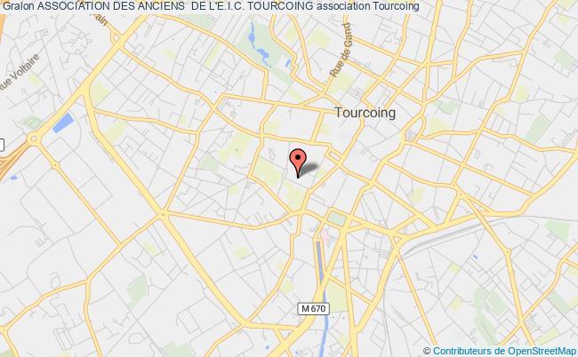 plan association Association Des Anciens  De L'e.i.c. Tourcoing