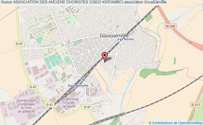 plan association Association Des Anciens Choristes (cbco Kintambo) Goussainville