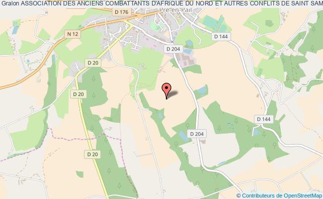 plan association Association Des Anciens Combattants D'afrique Du Nord Et Autres Conflits De Saint Samson Saint-Samson