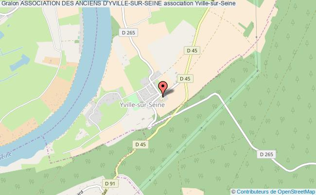 plan association Association Des Anciens D'yville-sur-seine Yville-sur-Seine