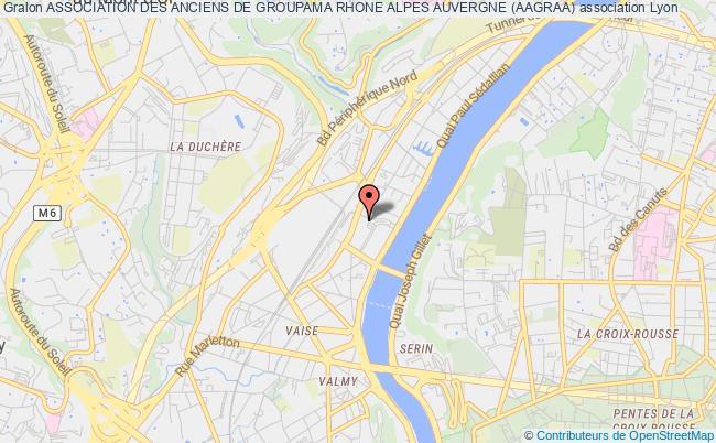 plan association Association Des Anciens De Groupama Rhone Alpes Auvergne (aagraa)