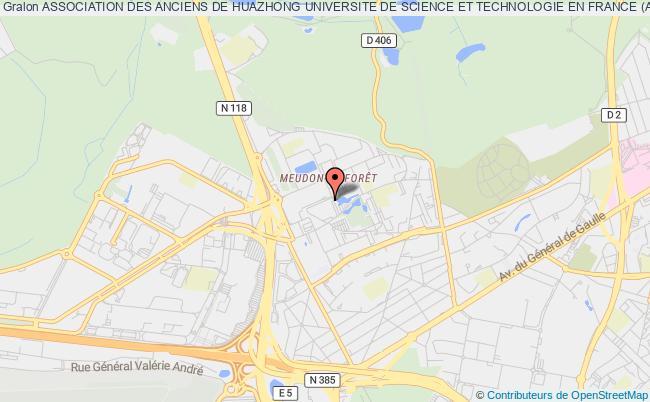 plan association Association Des Anciens De Huazhong Universite De Science Et Technologie En France (aahustf)