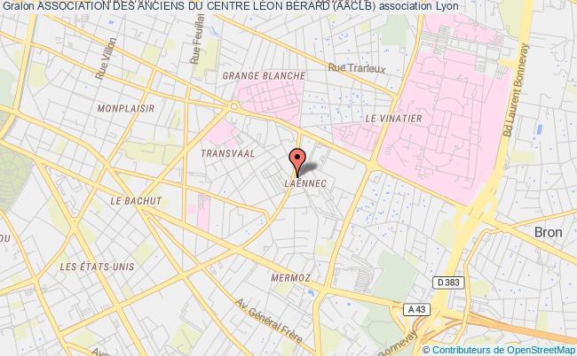 plan association Association Des Anciens Du Centre LÉon BÉrard (aaclb)