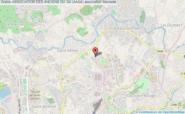 plan association Association Des Anciens Du G4 (aag4) Marseille