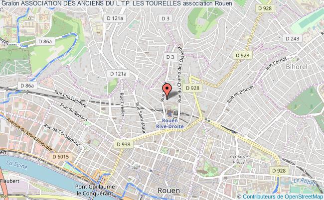 plan association Association Des Anciens Du L.t.p. Les Tourelles Rouen