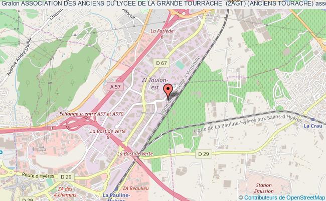 plan association Association Des Anciens Du Lycee De La Grande Tourrache  (2agt) (anciens Tourache)