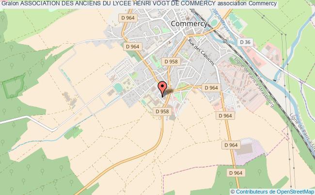 plan association Association Des Anciens Du Lycee Henri Vogt De Commercy