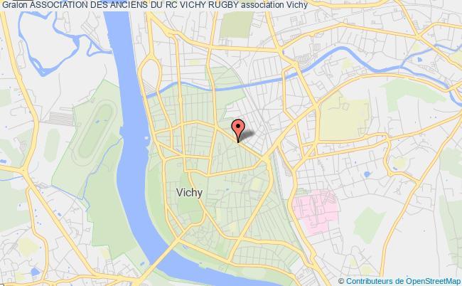 plan association Association Des Anciens Du Rc Vichy Rugby