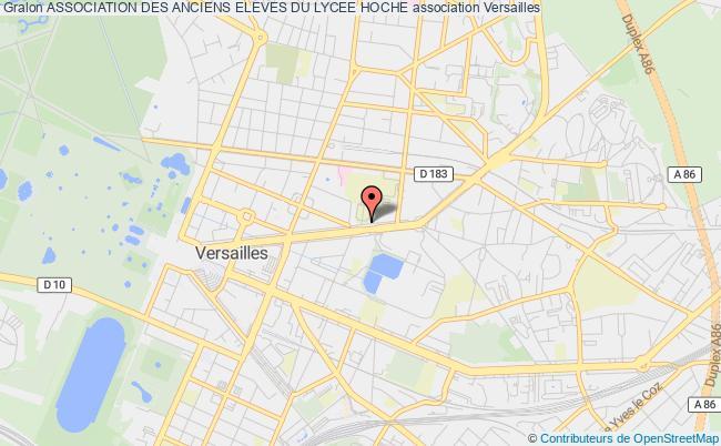 plan association Association Des Anciens Eleves Du Lycee Hoche