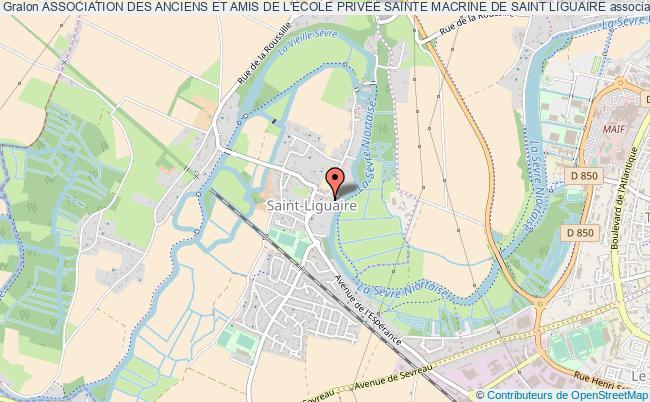 plan association Association Des Anciens Et Amis De L'ecole Privee Sainte Macrine De Saint Liguaire