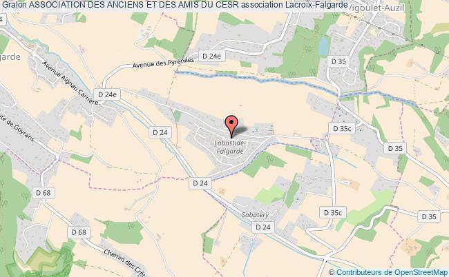 plan association Association Des Anciens Et Des Amis Du Cesr