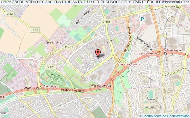 plan association Association Des Anciens Etudiants Du Lycee Technologique Sainte Ursule