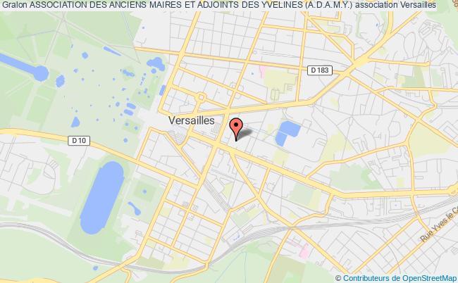 plan association Association Des Anciens Maires Et Adjoints Des Yvelines (a.d.a.m.y.)