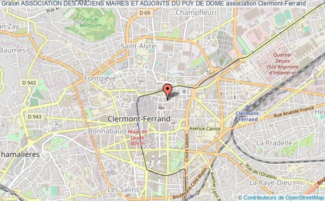 plan association Association Des Anciens Maires Et Adjoints Du Puy De Dome